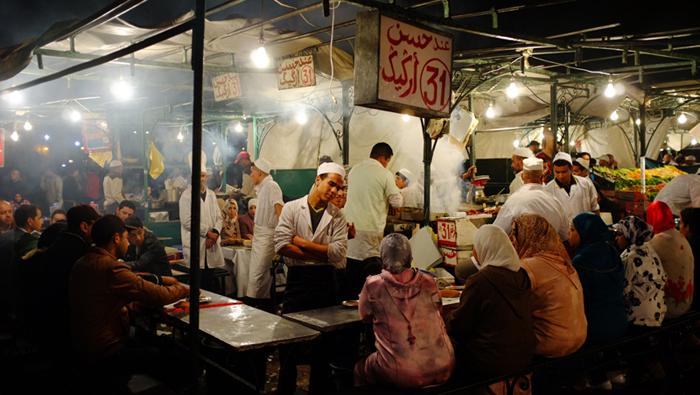 Marrakech, 2014.